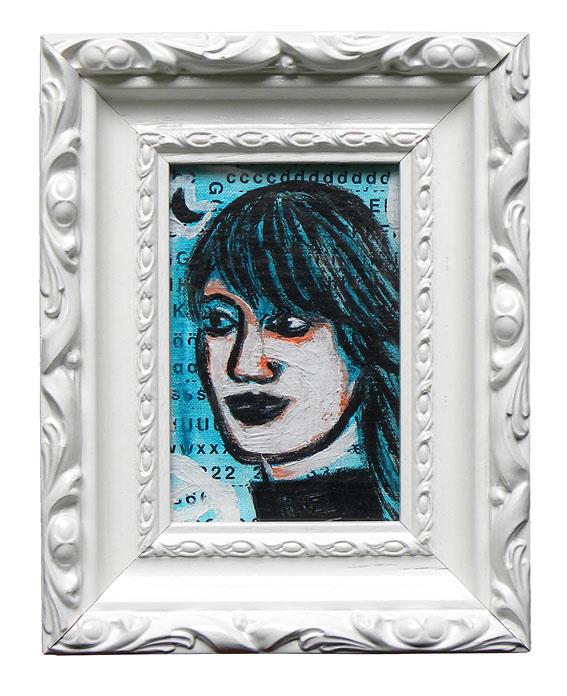 Mask Técnica mixta 10 x 15 cm 2009
