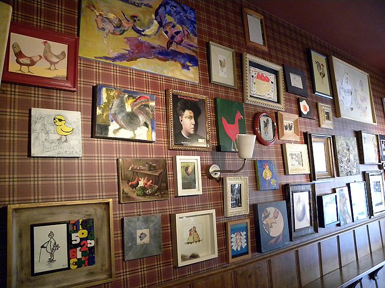 Exposición en el Bar La gallina ciega (Bilbao)
