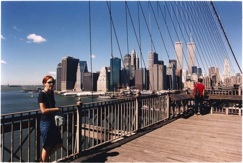 The Brooklyn Bridge. New York