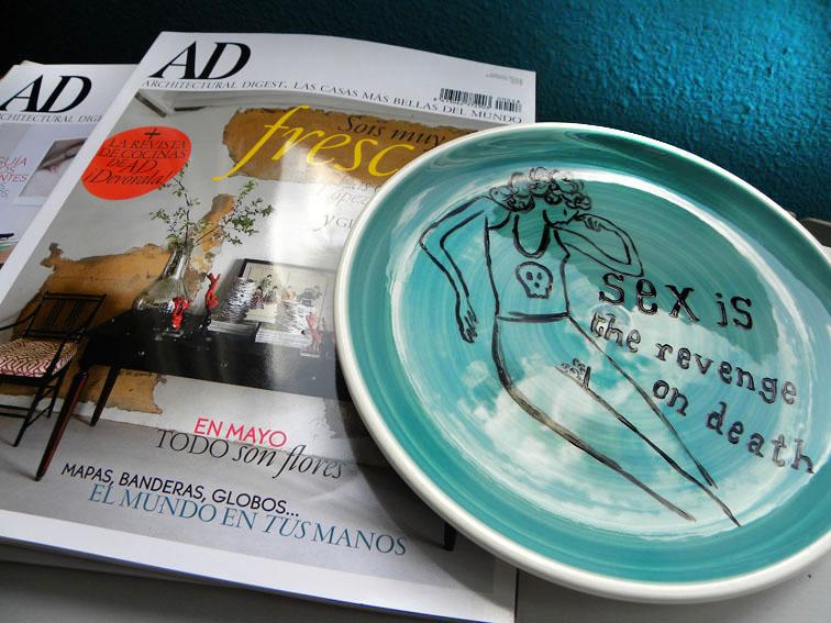 De Luna Plates in AD