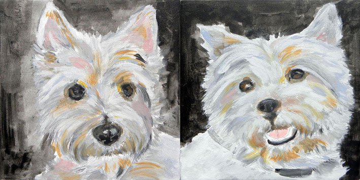 Pets Portrait Painting