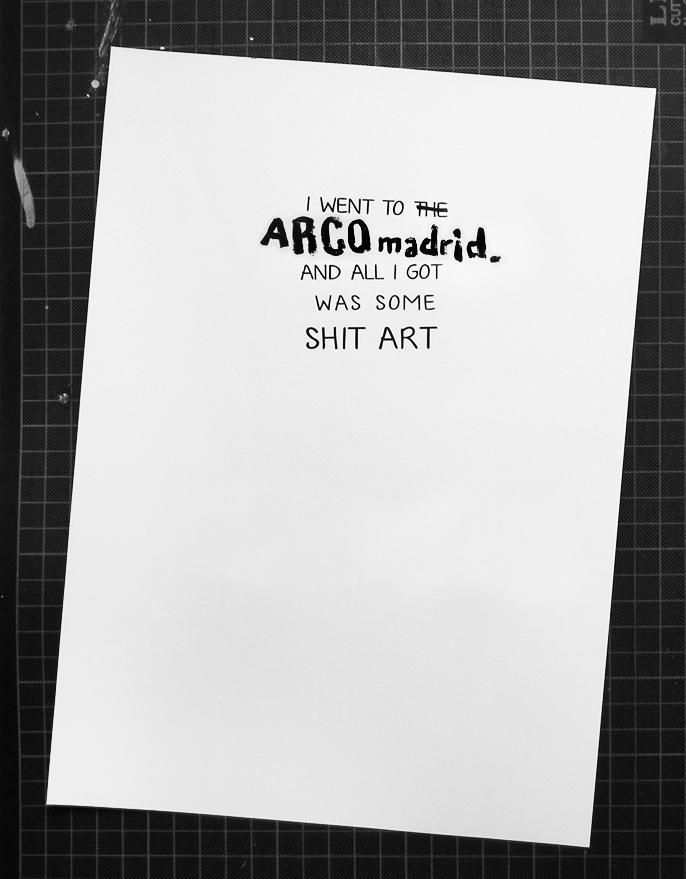 Fuck art!