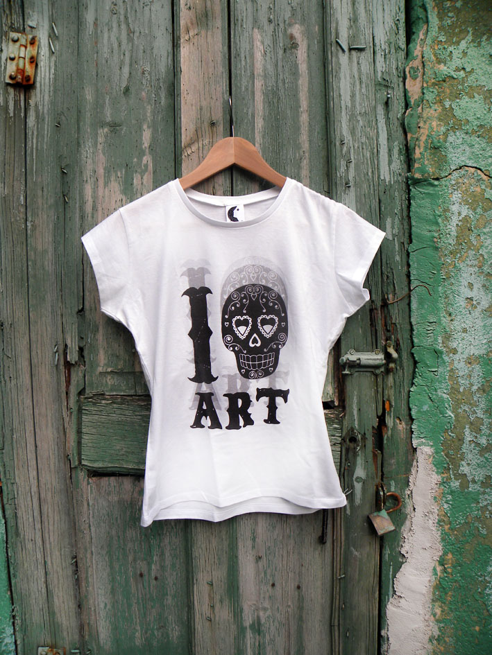 Camiseta I hate Art