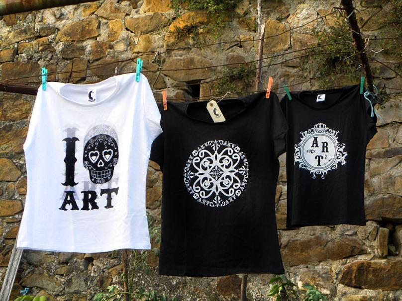 Colección de camisetas
