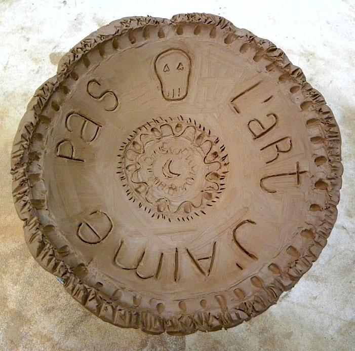 Mi primera pieza de cerámica