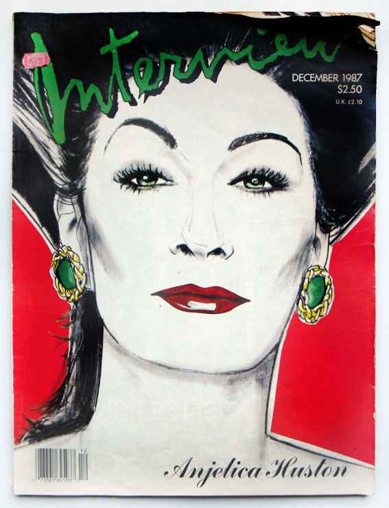 Interview Magazine by Andy Warhol