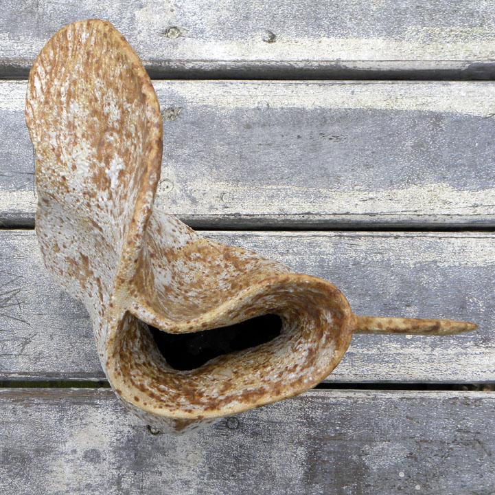 Winged vase