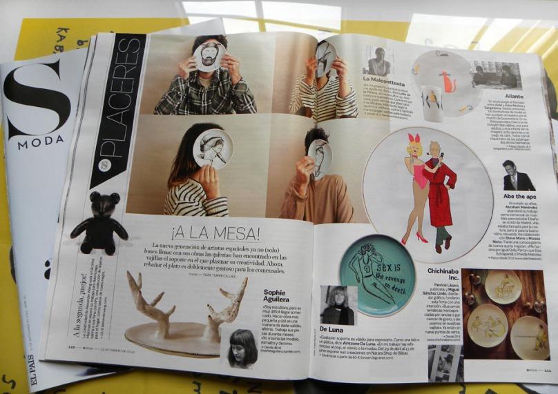 Luna Art en S Moda (El País)