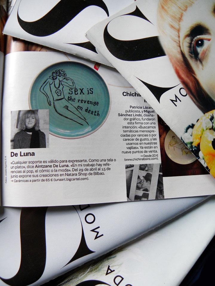Luna Art en S Moda de El País