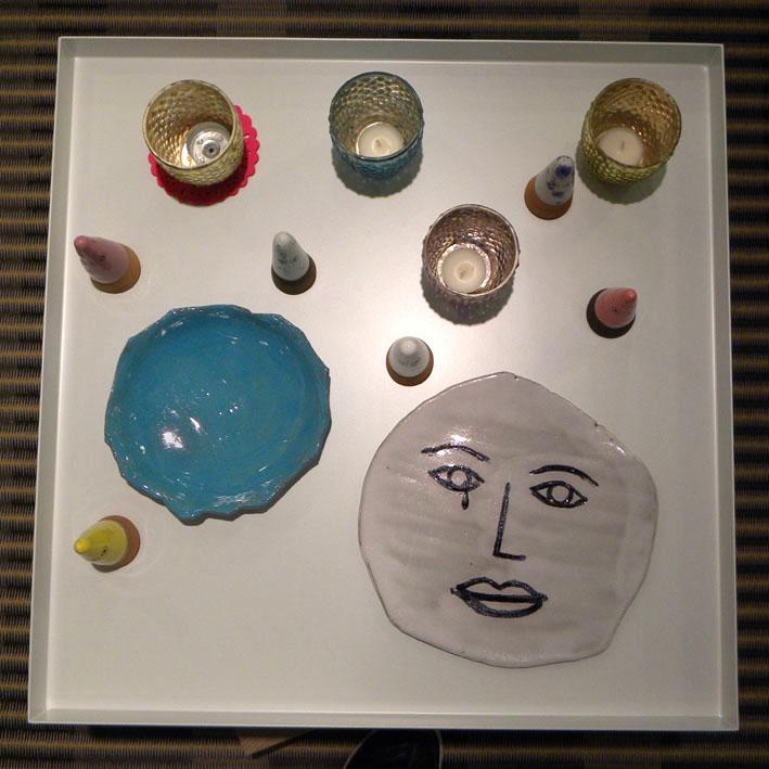 Luna Art ceramics in Narata