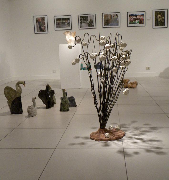Exposición colectiva del taller de cerámica de Manuela Marcos