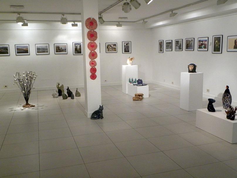 Exposición del taller de cerámica de Manuela Marcos