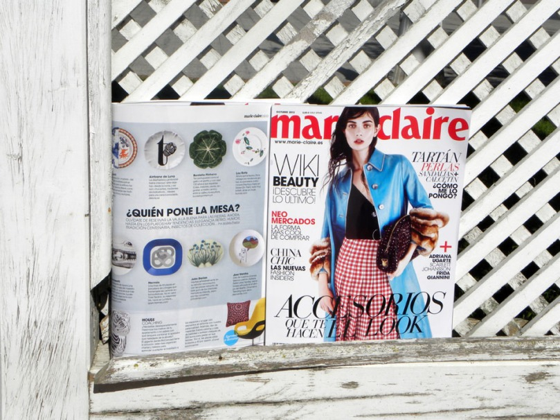 Las cerámicas Luna Art en Marie Claire