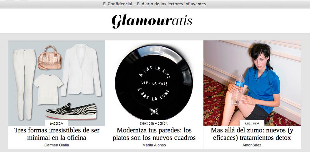 Luna Art en Glamouratis en El Confidencial