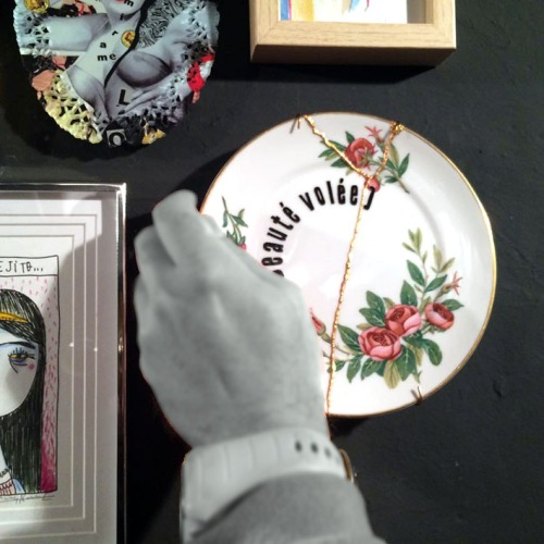 Beauté Volée. Luna Art Ceramics.