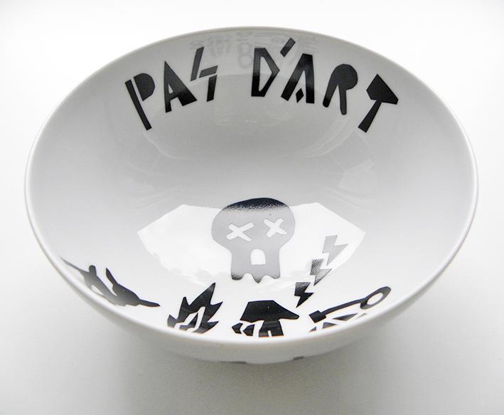 Ceramics 'Pas d'Art' by Aintzane De Luna