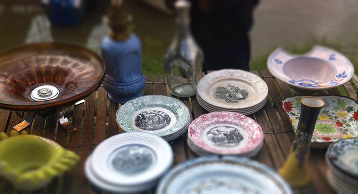 Fête des brocs, antiquités-brocante, Port-de-Lanne