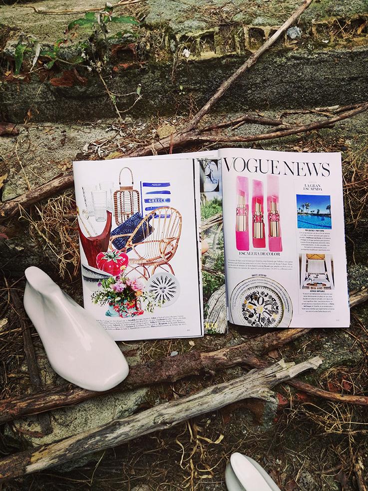Deluna Ceramics en Vogue y Vogue Living