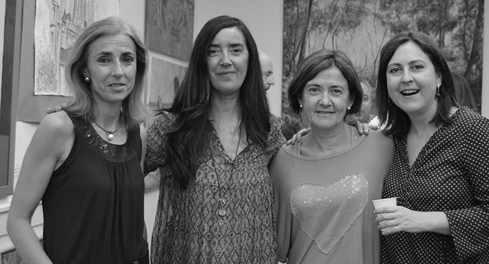 Deluna Ceramics en la inauguración de Galería Fariza