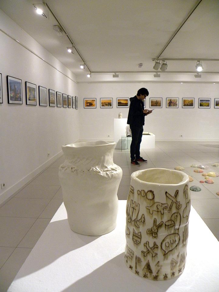 Exposición del taller de cerámica con Aintzane De Luna