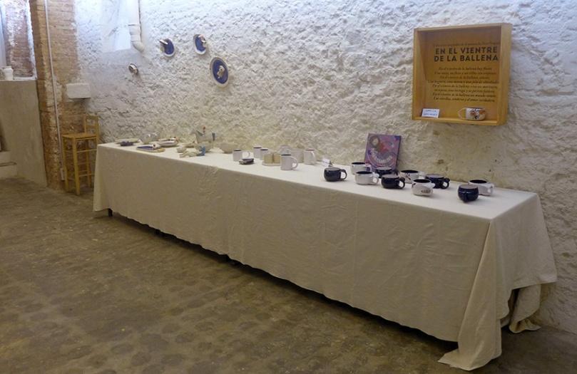 Exposición colectiva de cerámica 'Fang en femení'. Circuito oficial. Las cosas de Martínez. 47º Congreso y Asamblea General de la AIC. Barcelona. 2016.