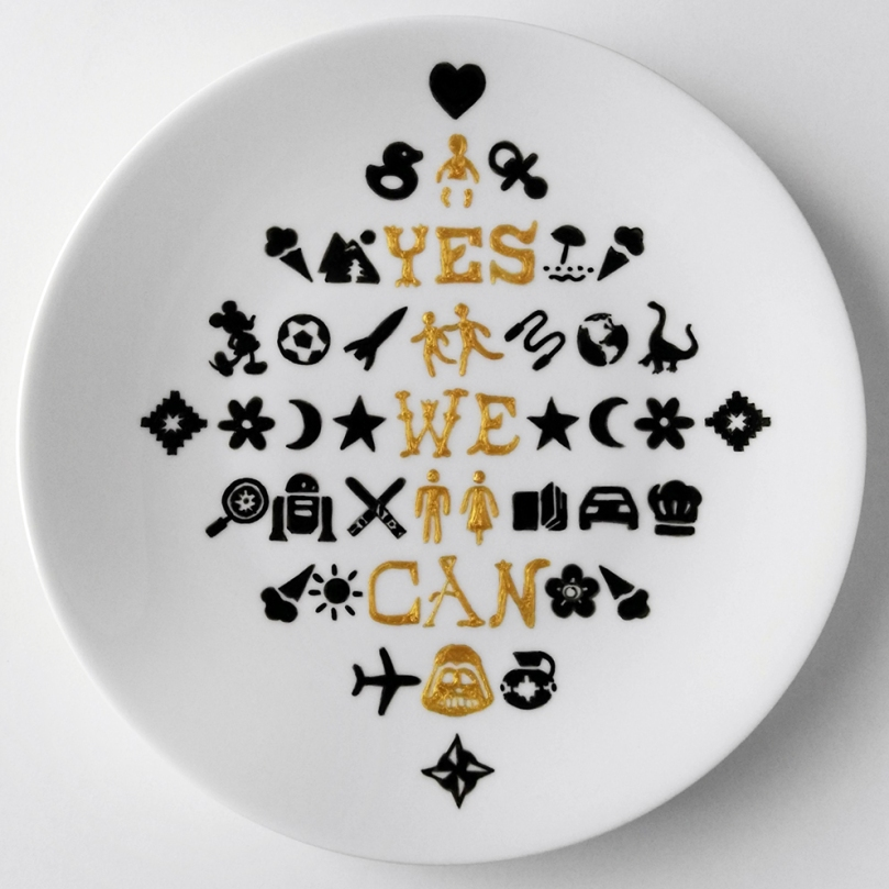 YES WE CAN by Deluna Ceramics