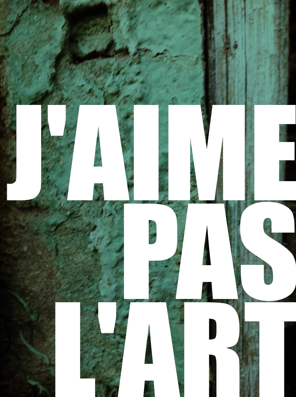 J'aime Pas L'art by Deluna Ceramics
