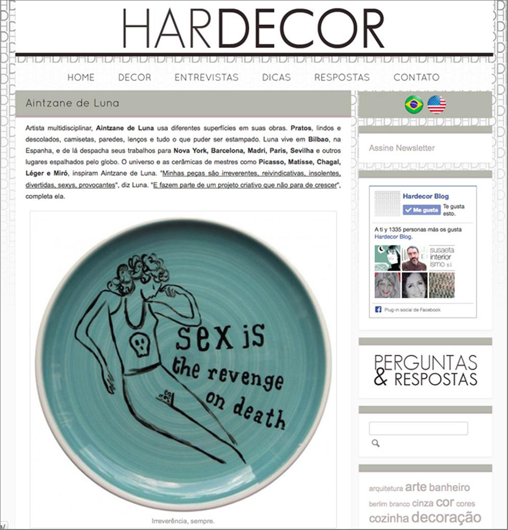 Deluna Ceramics en Hardecor Brasil
