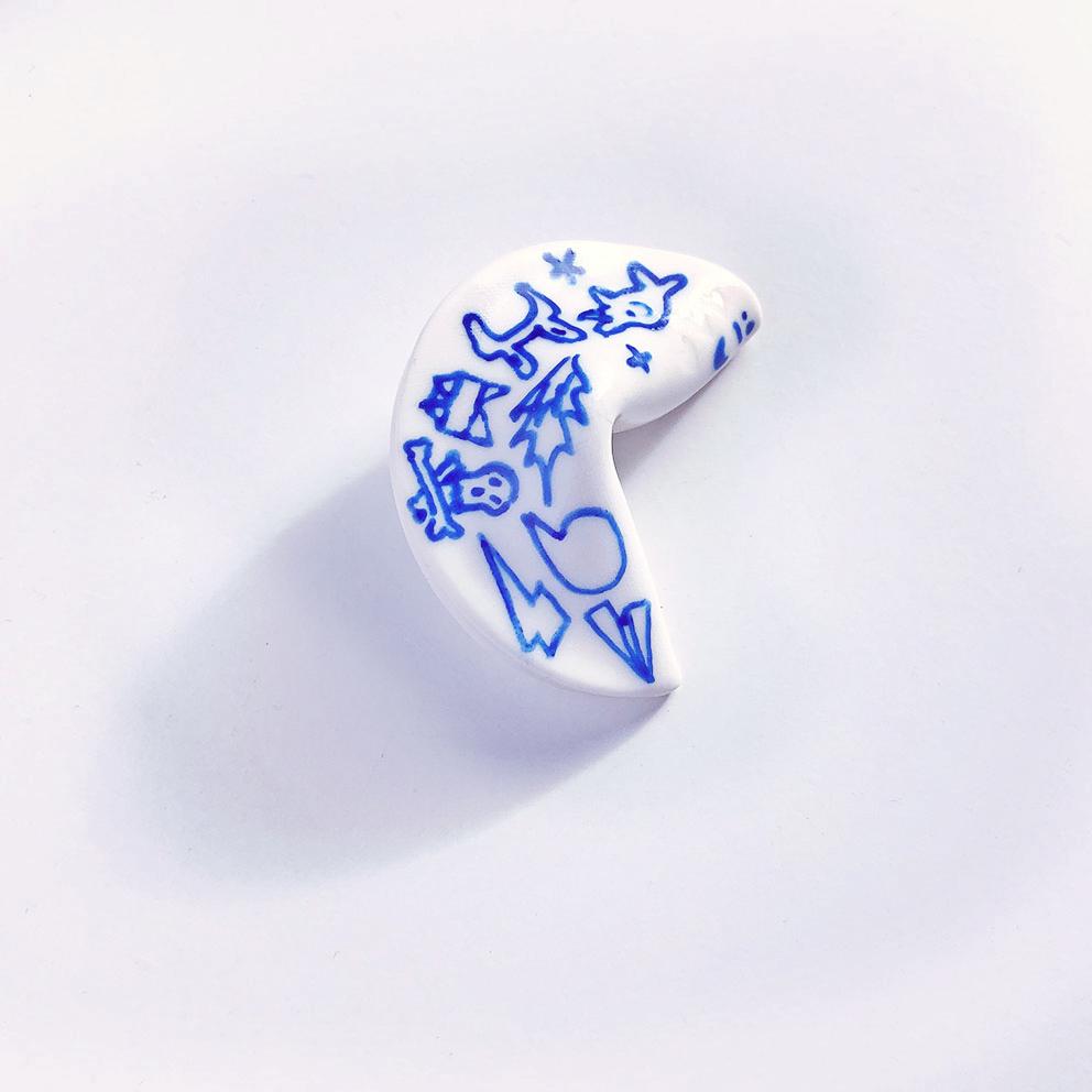 Fortune Cookie by Deluna Ceramics
