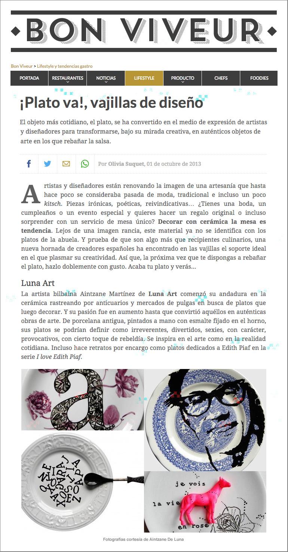 Aintzane De Luna en Bon Viveur