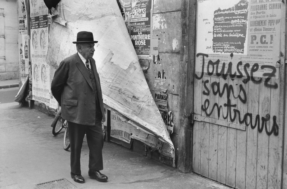 Jouissez sans entraves. Photo: Henri Cartier-Bresson