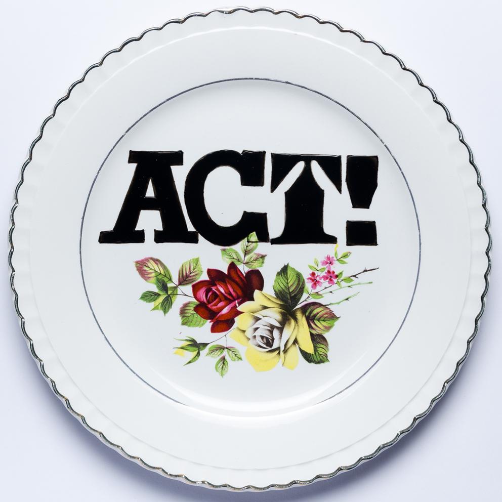 ACT! Porcelanas & Mariposas por Aintzane de Luna