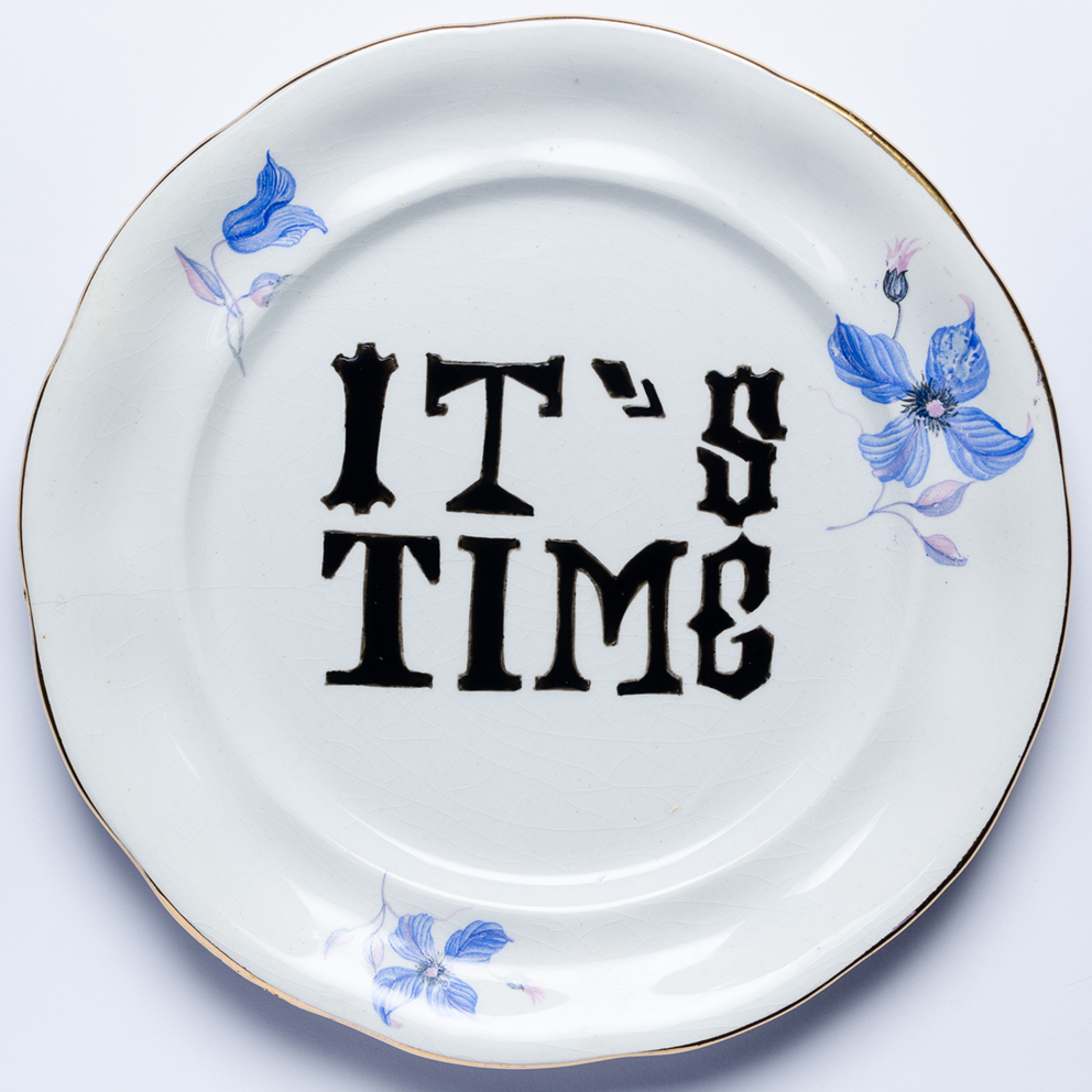 IT'S TIME! Porcelanas & Mariposas por Aintzane de Luna