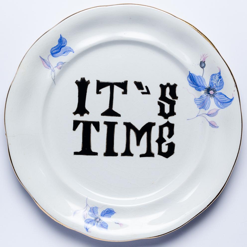 IT'S TIME! Porcelanas & Mariposas por Aintzane de Luna