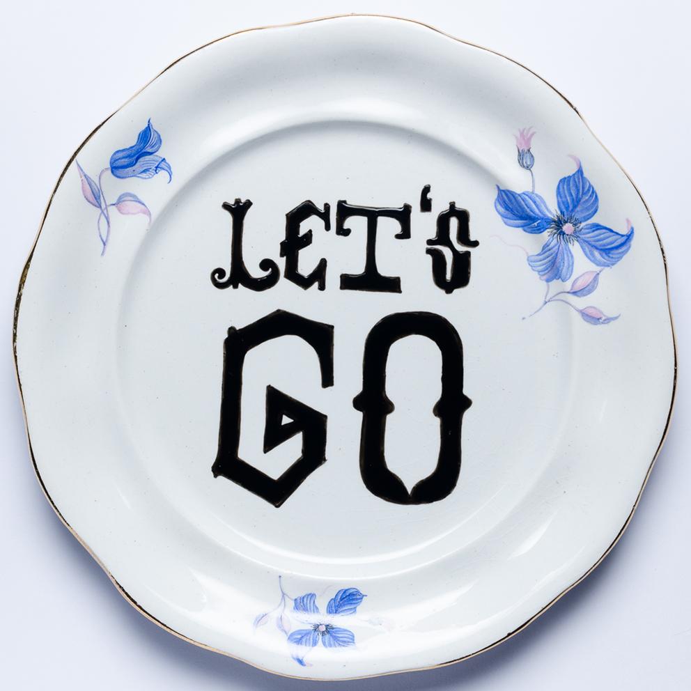 LET'S GO! Porcelanas & Mariposas por Aintzane de Luna
