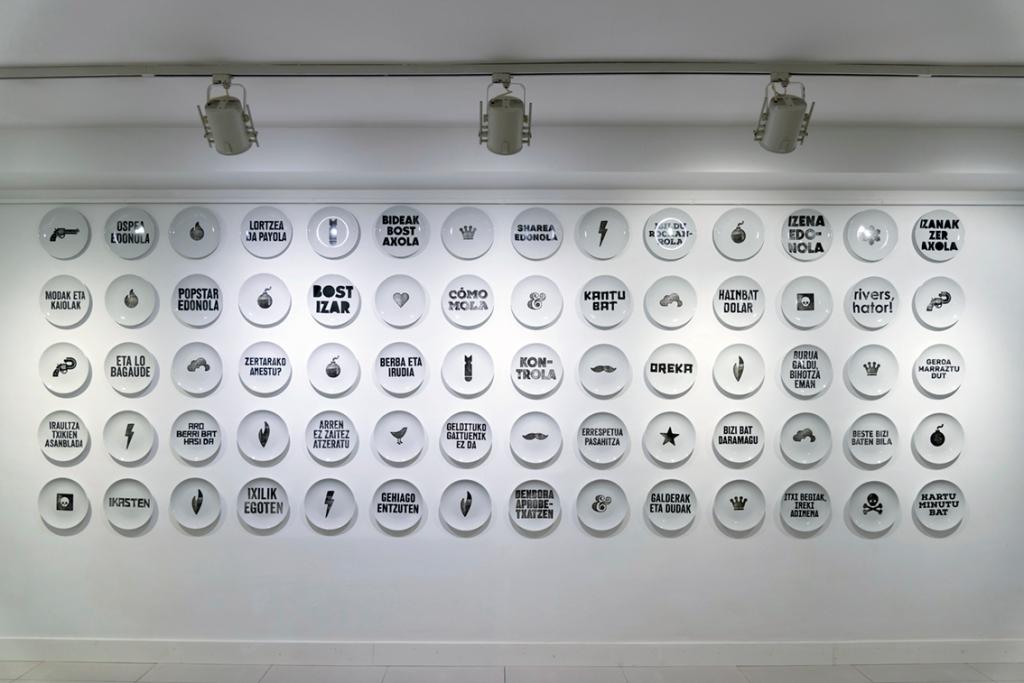 'Berri Txarrak, Berri Onak', instalación de la artista Aintzane De Luna