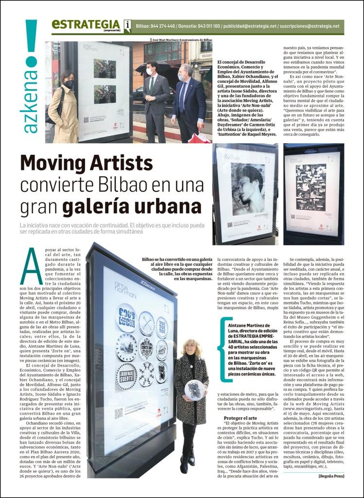 Instalación de cerámica Zorte On! de Aintzane De Luna para la exposición colectiva Arte Non-nahi